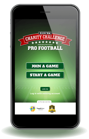 Join a Game on Pick'em Charity Challenge
